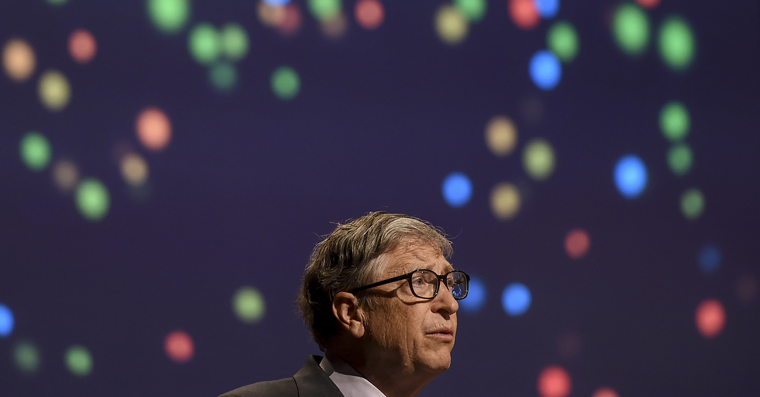 Bill Gates Thinks There's No Good Reason to Eat Beef Burgers Anymore