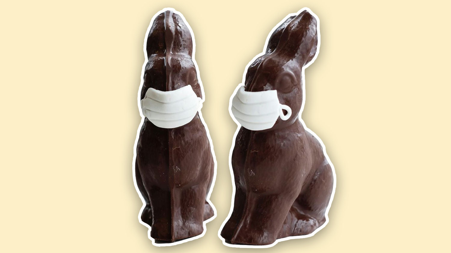 You Can Get COVID-Friendly Vegan Chocolate Easter Bunnies