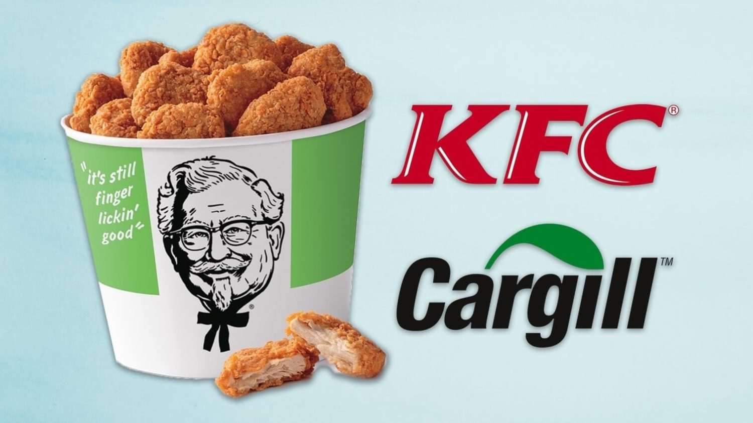 KFC in China to Sell Vegan Chicken Nuggets by Cargill