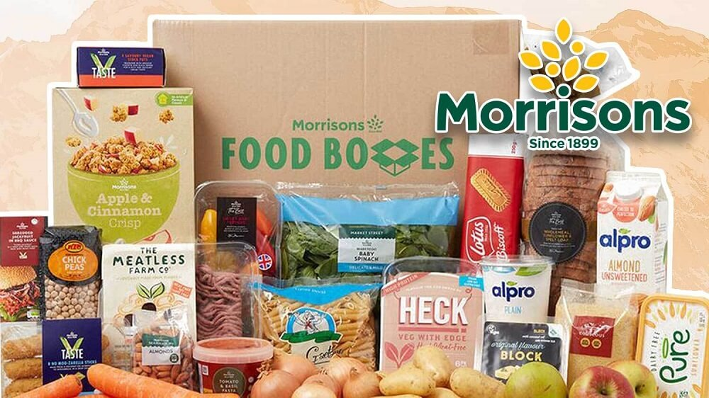 Morrisons Launches Vegan Boxes That Will Feed 2 People for a Week