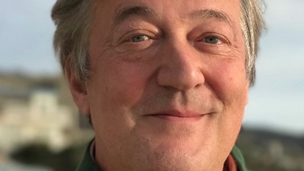Stephen Fry Cooks Up a Vegan Storm to Beat Climate Change