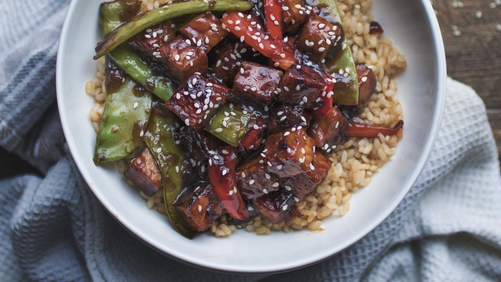 Dinner Is Done With This Vegan Sweet and Sour Tempeh