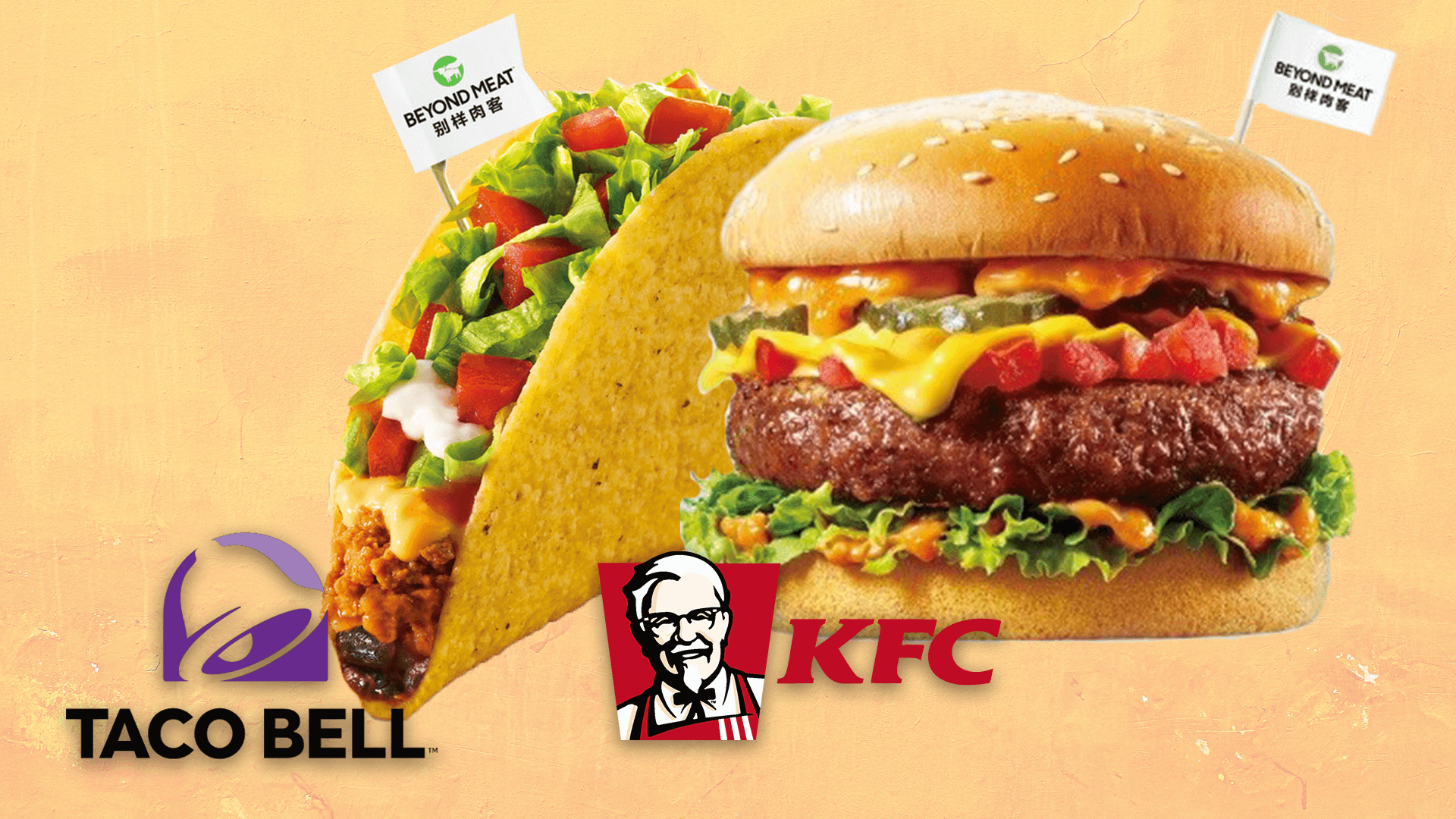 Taco Bell, Pizza Hut, and KFC Just Partnered With Beyond Meat In China