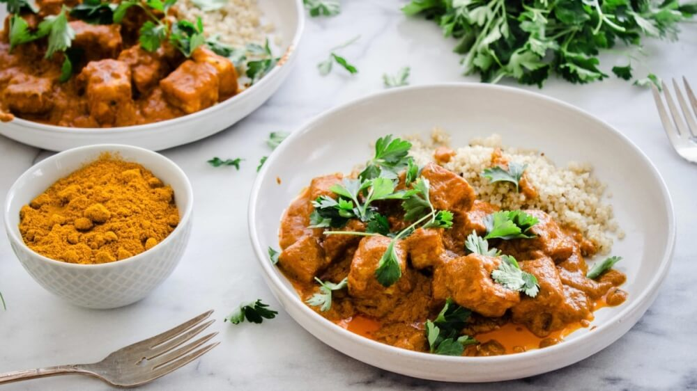 Make This Vegan Butter Tofu With Indian Spices