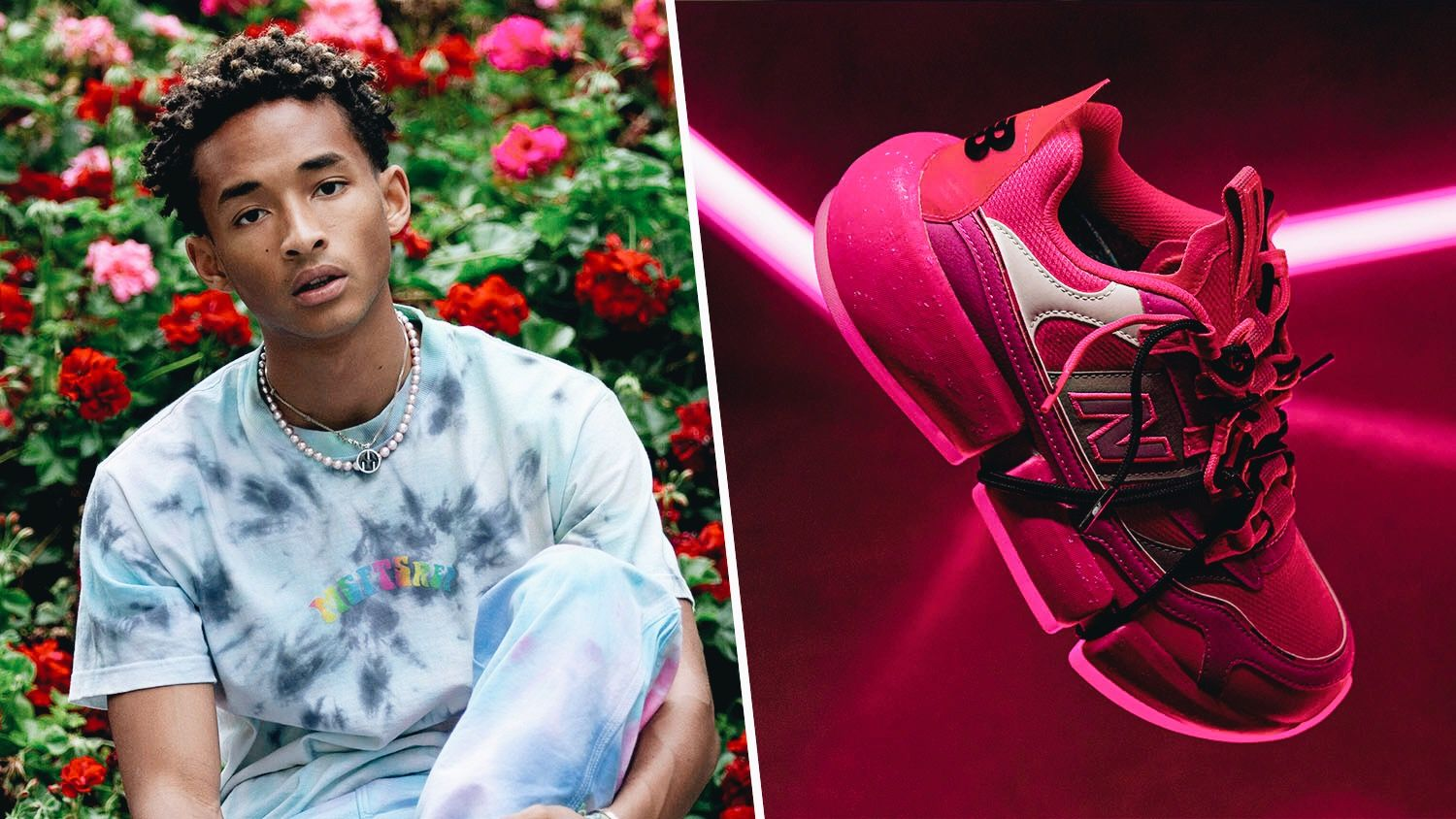 Jaden Smith and New Balance Team Up to Launch Pink Vegan Sneakers