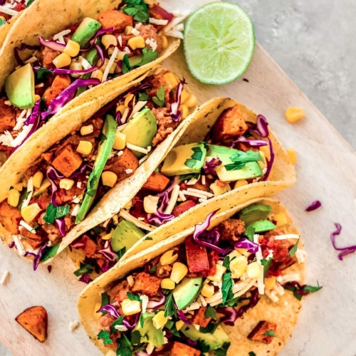 Eat These Vegan Sweet Potato Tacos Any Day of the Week