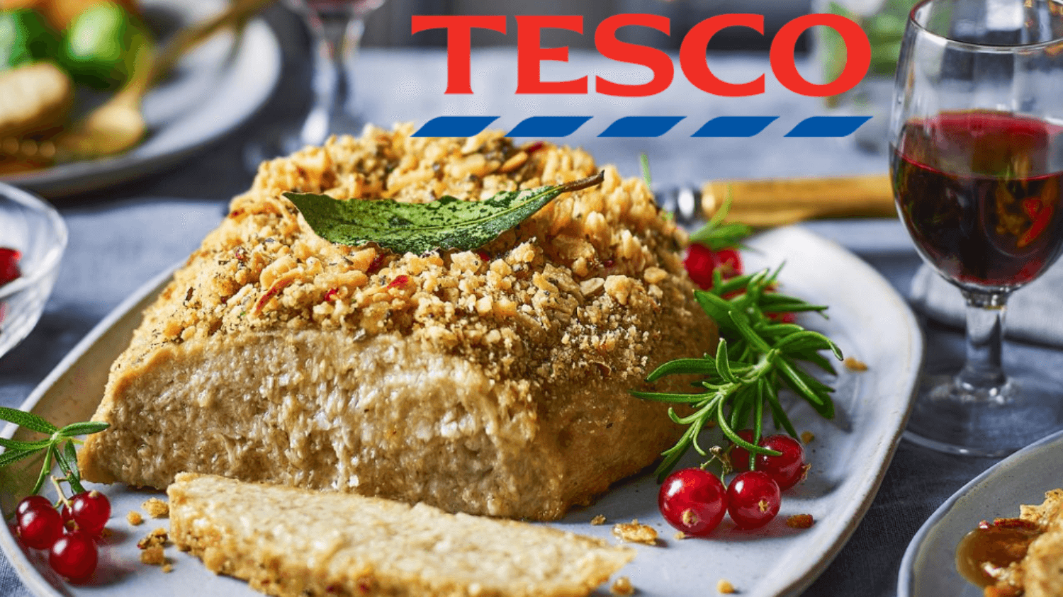 Tesco Launches Vegan Turkey Crown for Christmas Day