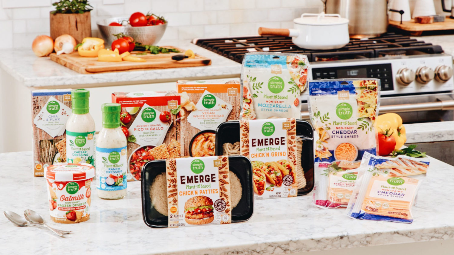 Kroger Launches 50 New Private Label Vegan Products