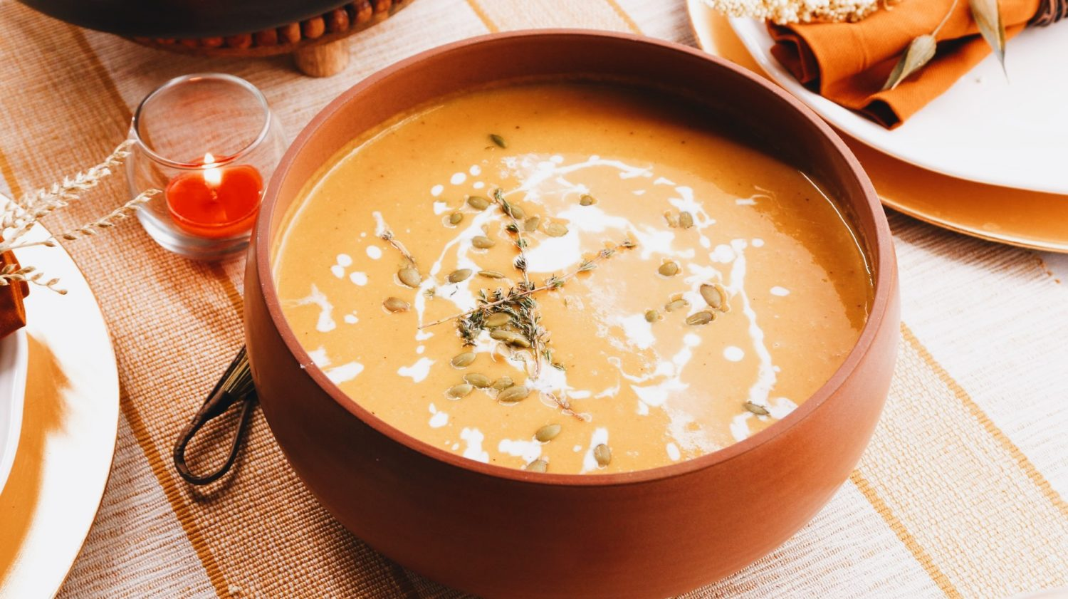 The Best Vegan Butternut Squash Soup Recipe to Make this Thanksgiving