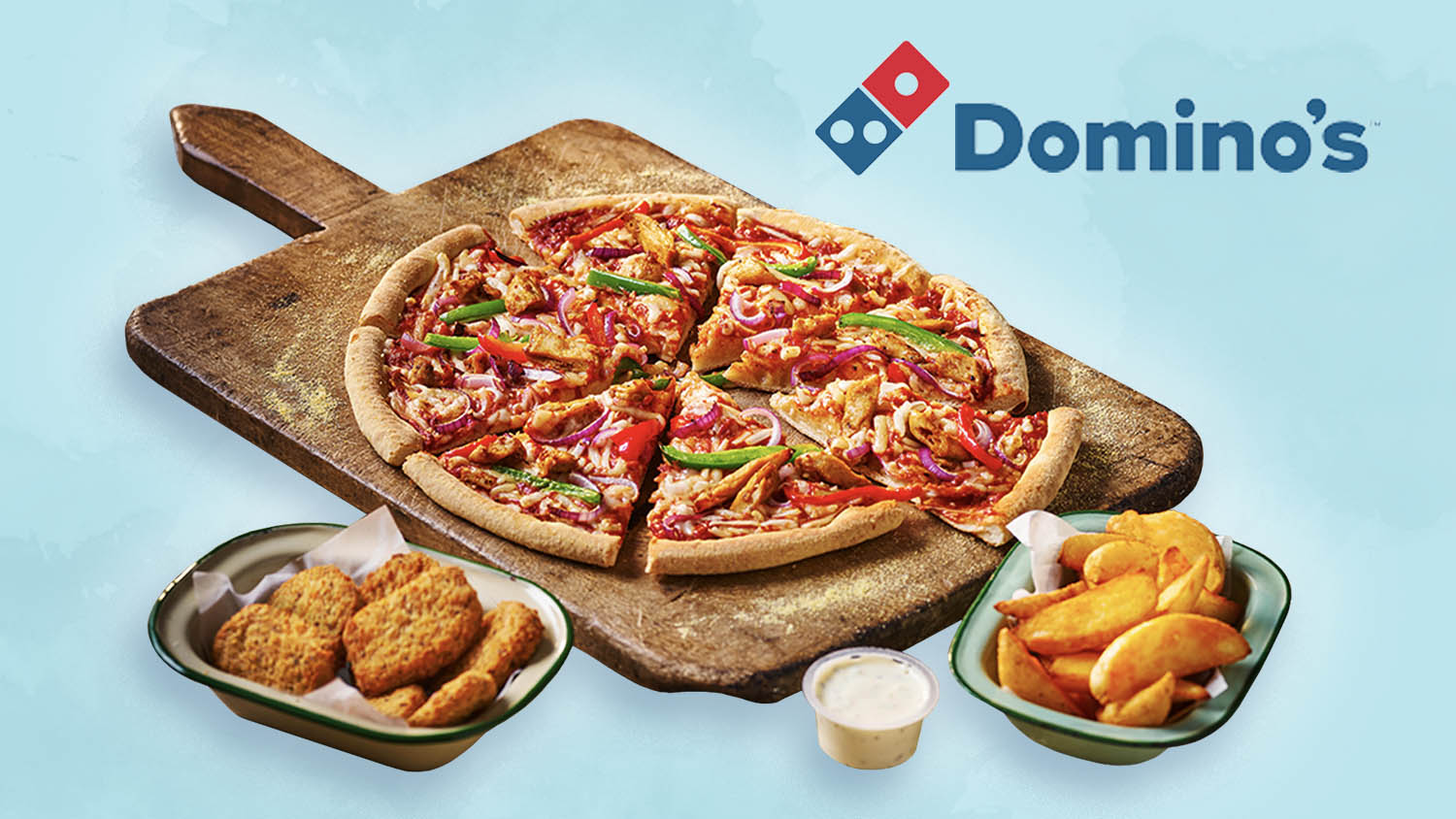 Domino's UK Is Launching a Meaty Vegan Pizza and Nuggets