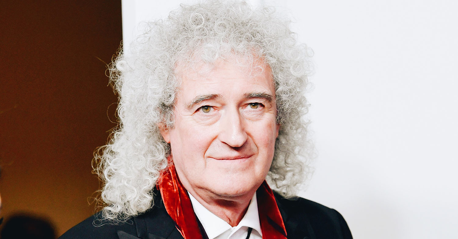 Brian May Has a Plant-Based Christmas Feast