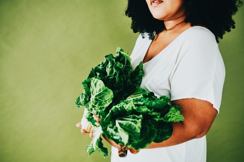 Eating leafy greens can help improve memory.   Delmaine Donson