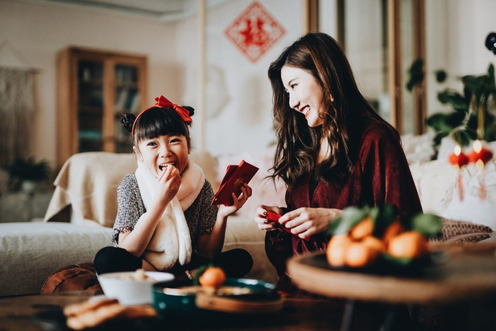 Several foods eaten on Lunar New Year's Eve have symbolic meanings.