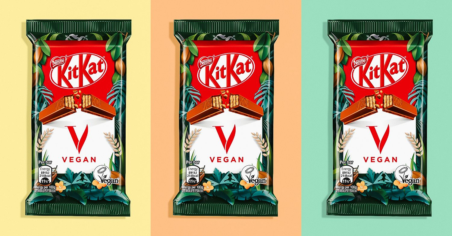 Vegan KitKat Bars Are Coming to the UK