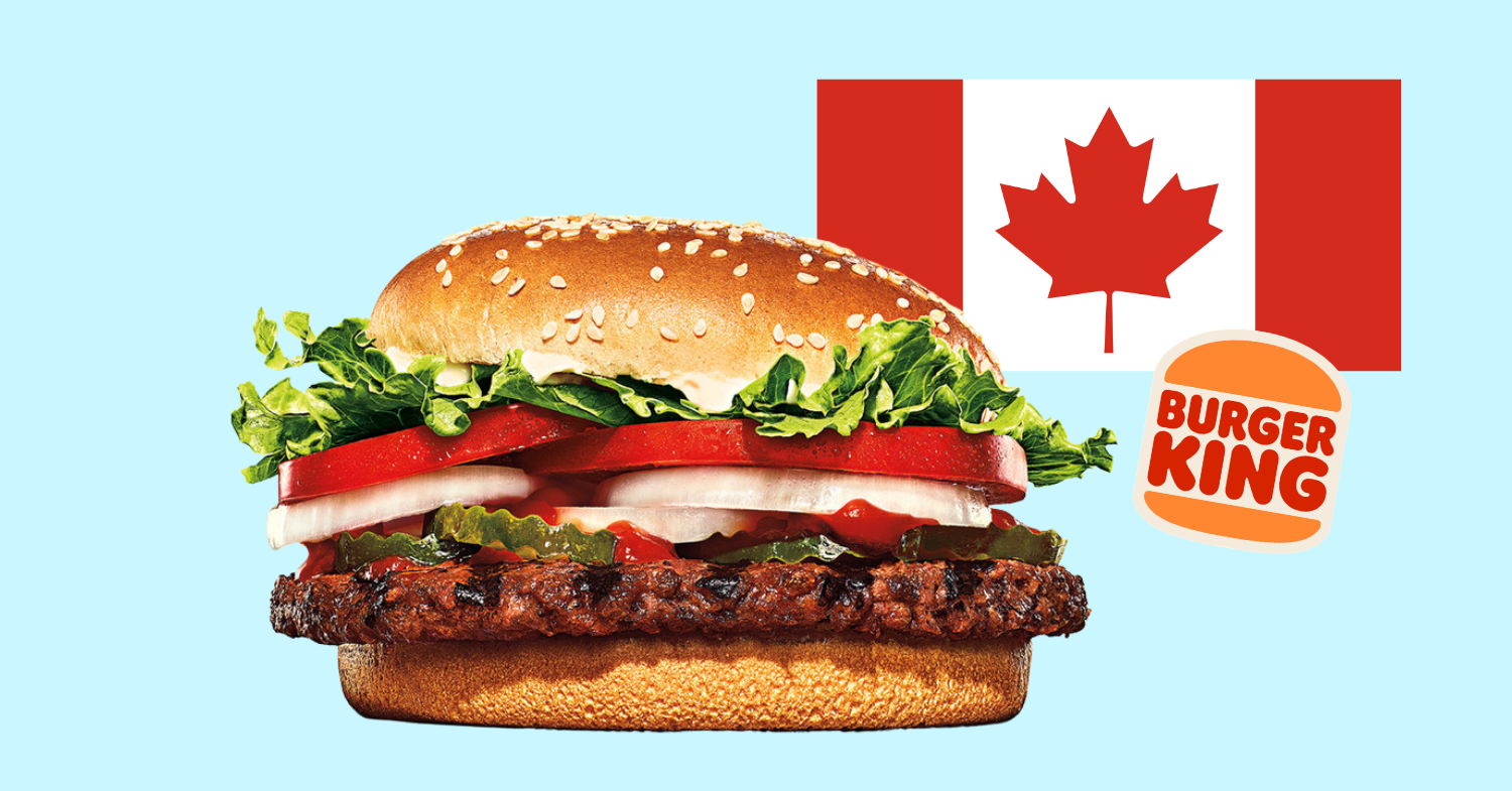 The Impossible Whopper Is Coming to Burger King Canada