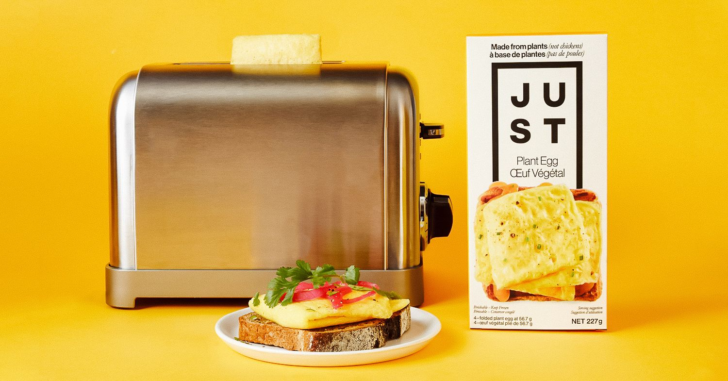 JUST Egg in Canada: Vegan Folded Egg to Launch in Over 1,000 Stores