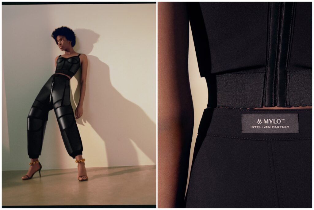 World First: Stella McCartney Launches Mushroom Leather Pants and Bustier