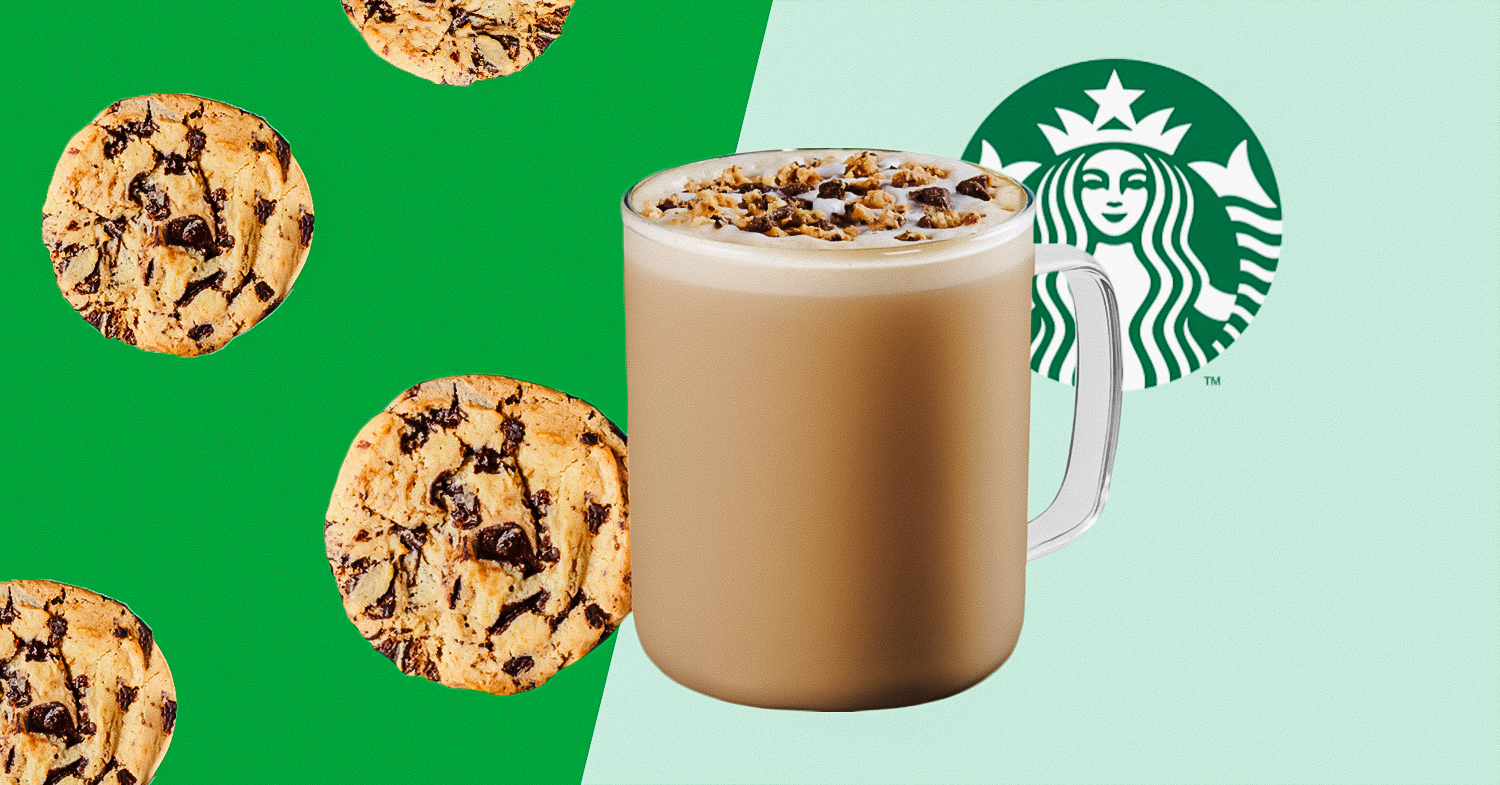 Starbucks: Vegan Chocolate Chip Cookie Lattes Now Available