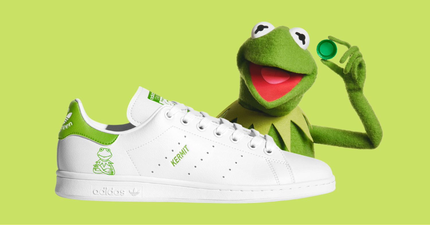 Adidas Launches Sustainable Stan Smith Kermit Shoes