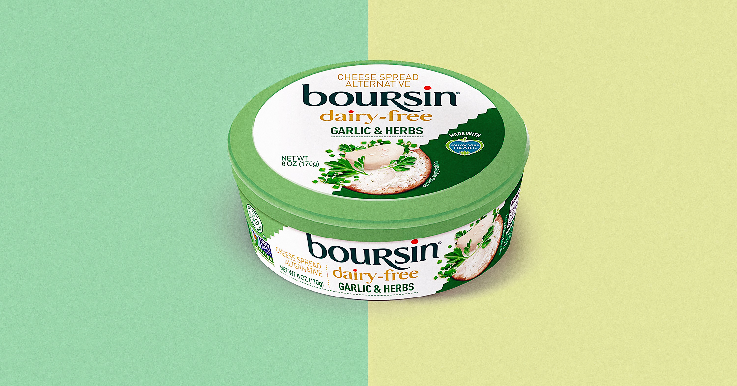Boursin Just Launched Its First Vegan Cheese
