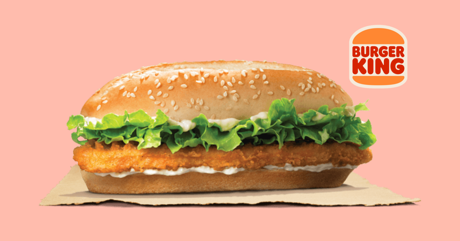 Burger King Vegan Chicken Royale Launches in the UK