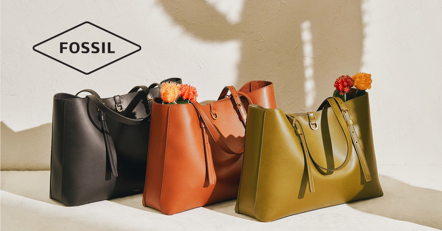 Fossil Cactus Leather Totes Latest Vegan Bags to Hit the Market