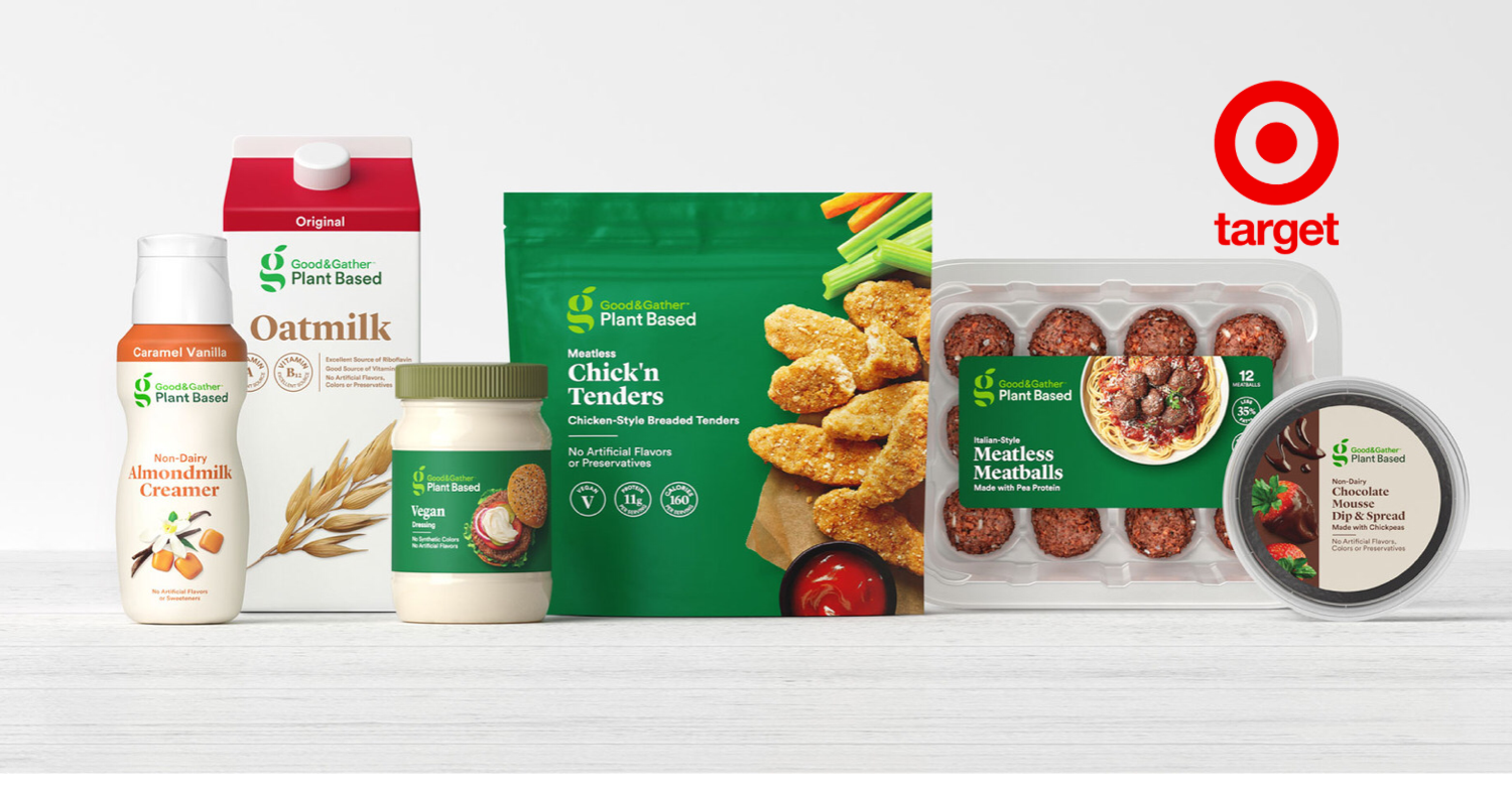 Nearly Everything in Target's Good and Gather Plant-Based Range Is Under $5