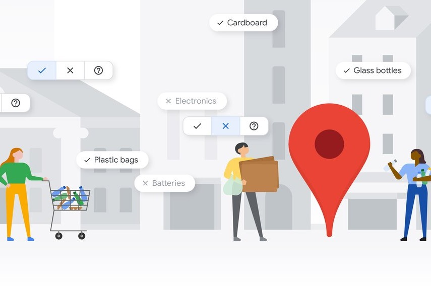 Google's Newest Sustainability Feature Helps You Recycle the Right Way