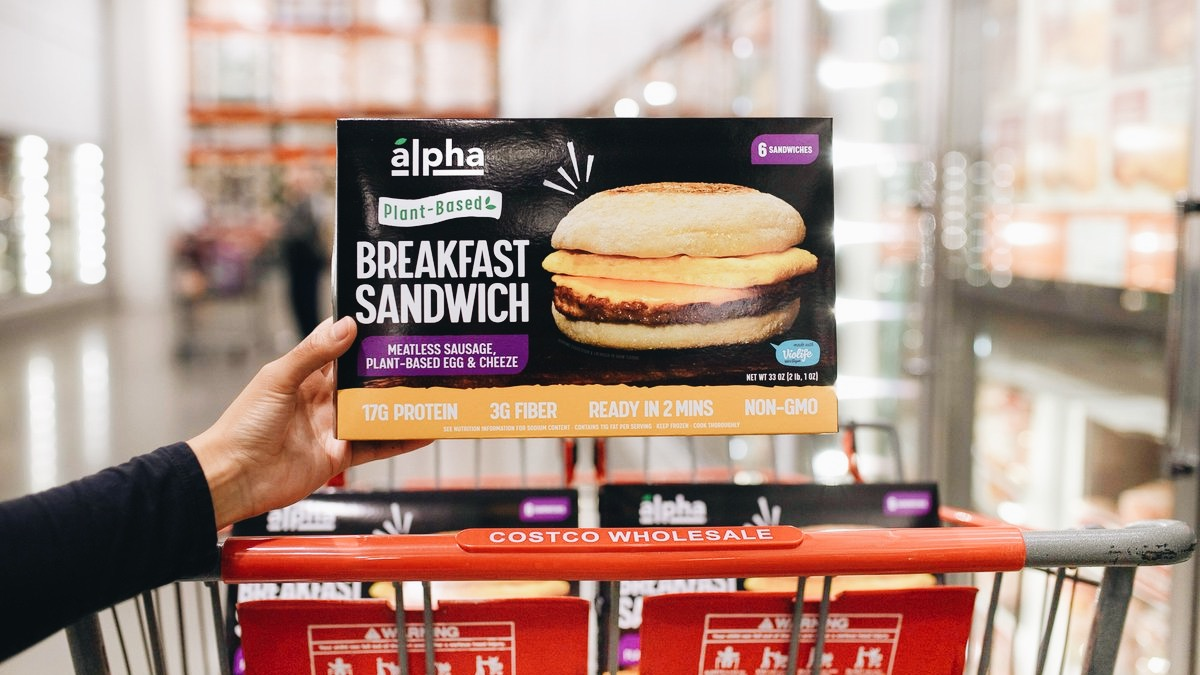 Vegan Breakfast Sandwiches Are Now Available at Costco