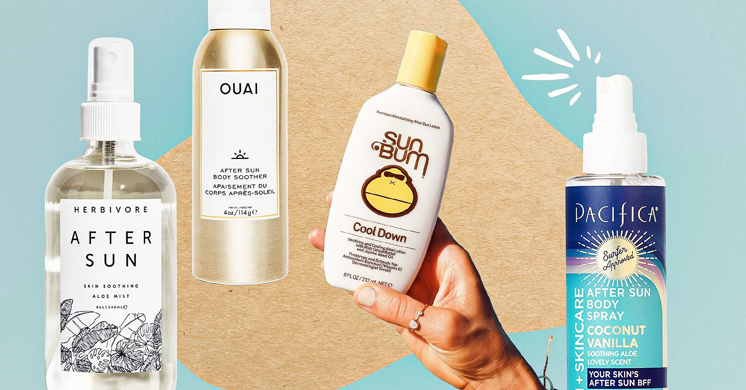 cruelty-free, vegan after sun lotions and sprays