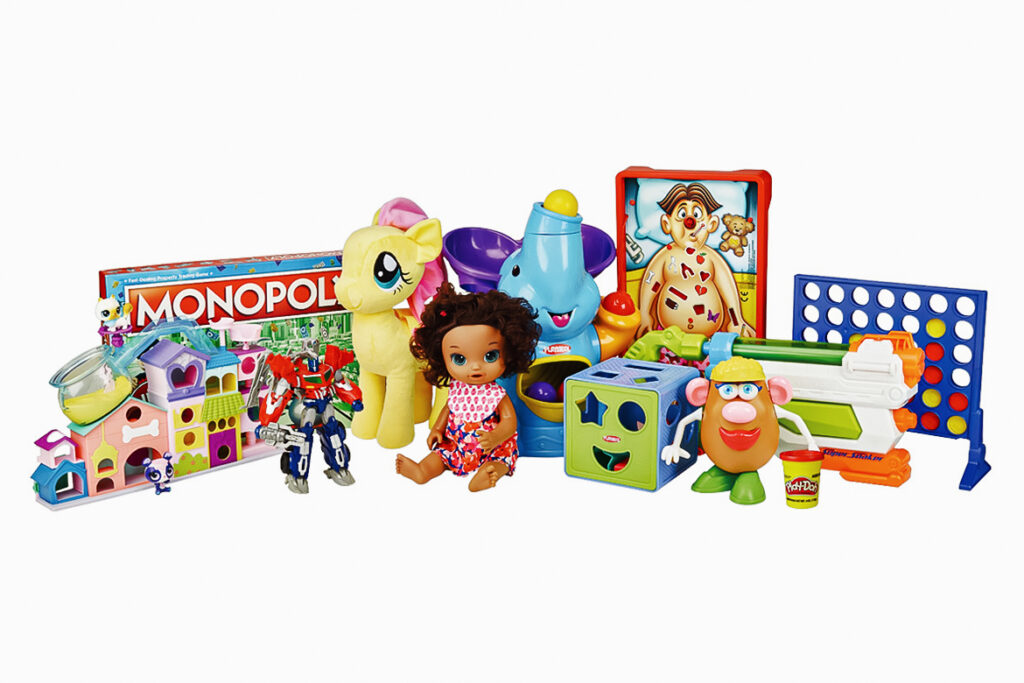 Hasbro toys and games