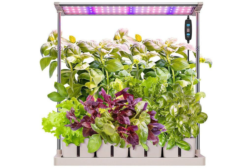 An LED herb garden is a sustainable choice for any home.
