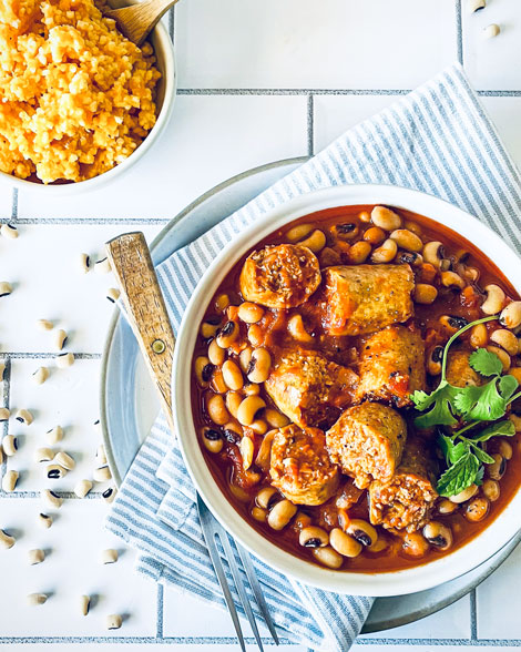 Boerewors-Style Sausage and Cowpea Stew