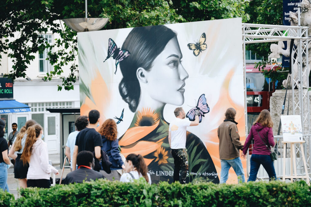 Street artist Jody Thomas to paint a CO2 absorbing mural at Centre Promenade