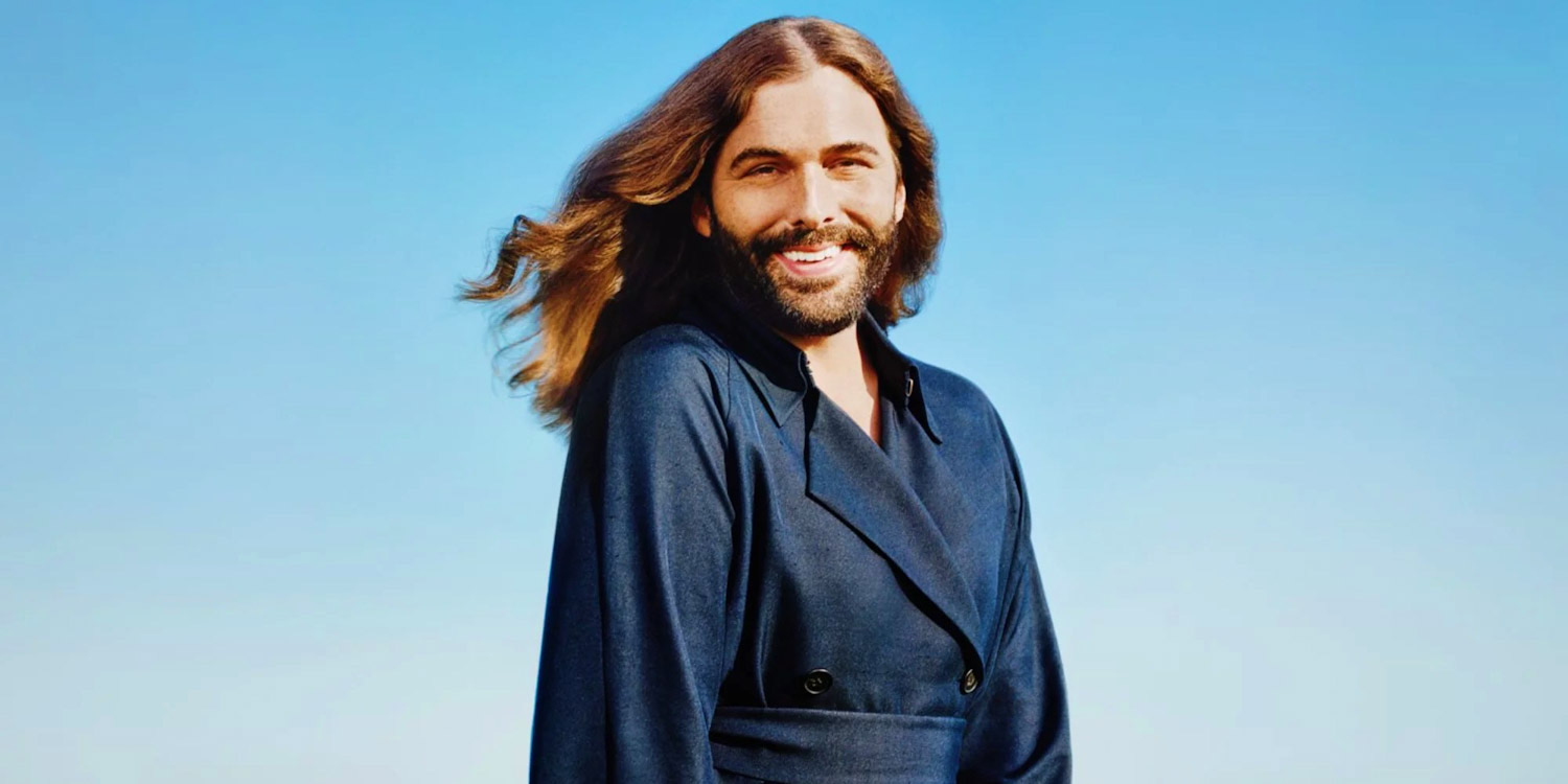 Picture features Jonathan Van Ness, the founder of cruelty-free hair care brand JVN.